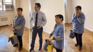 Video: Vecinos llaman a una limpiadora desempleada para asear un apartamento, pero… ¡se lleva la sorpresa de su vida!