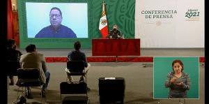 A un año del primer caso de Covid en México, se han registrado 185,257 decesos