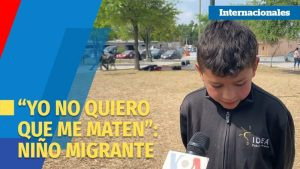 "Video: Yo no quiero que me maten"", afirma un niño migrante expulsado a de EU a México"