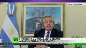 """Video: La OEA, """"escuadrón"""" contra gobiernos populares de América Latina, afirma el presidente argentino"""