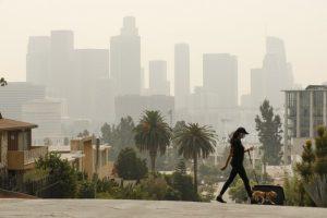 Humo de incendios en el norte de California afecta la calidad del aire en Los Ángeles