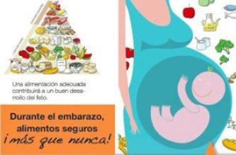 Menú para embarazadas