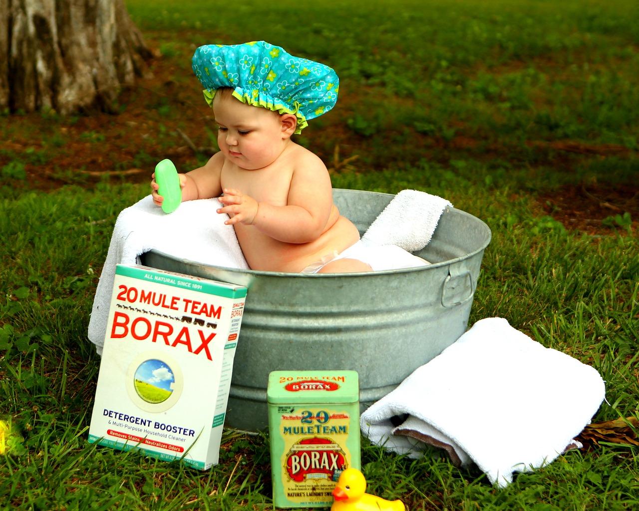 Todo sobre como bañar a un bebé - La Educación Infantil