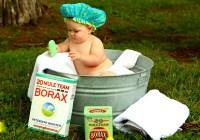 Todo sobre como bañar a un bebé