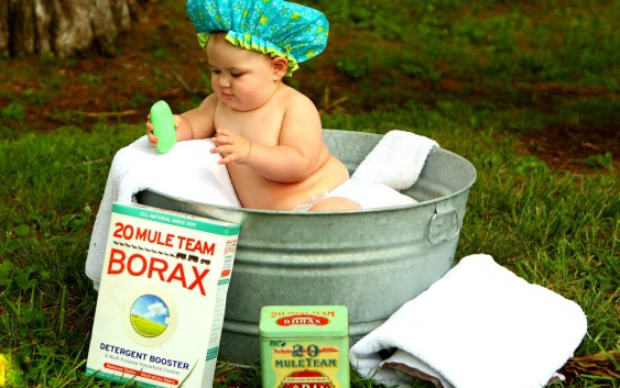 Como bañar a un bebé
