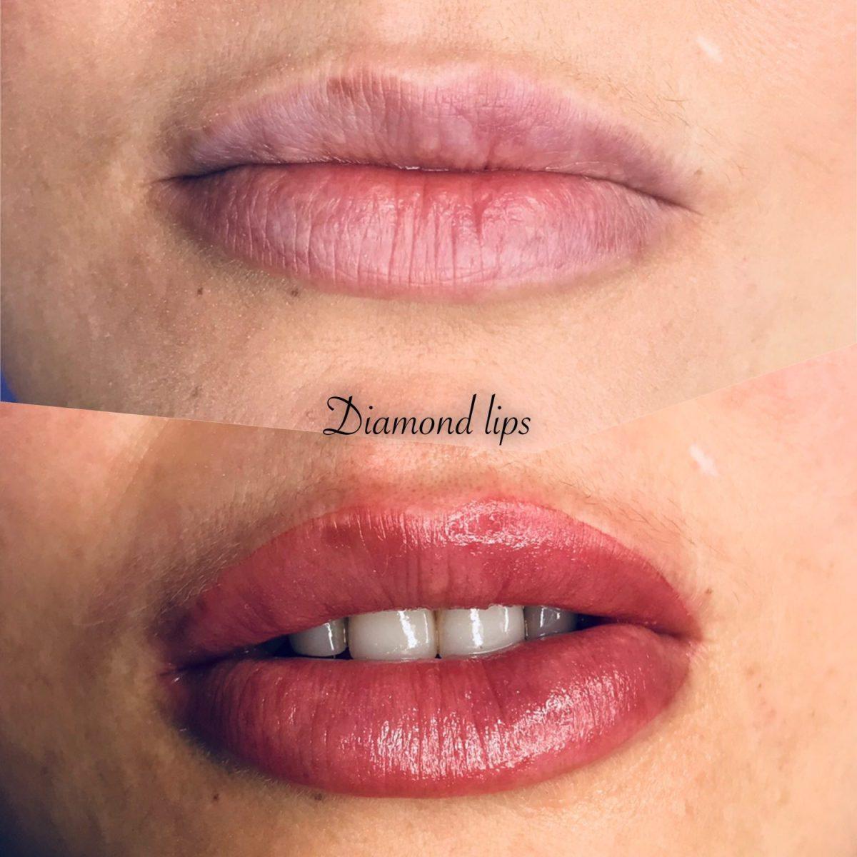 diamond lips pmu