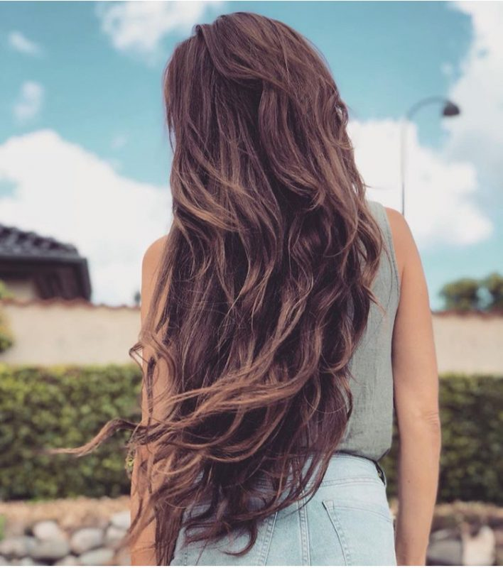 hair extensions mix