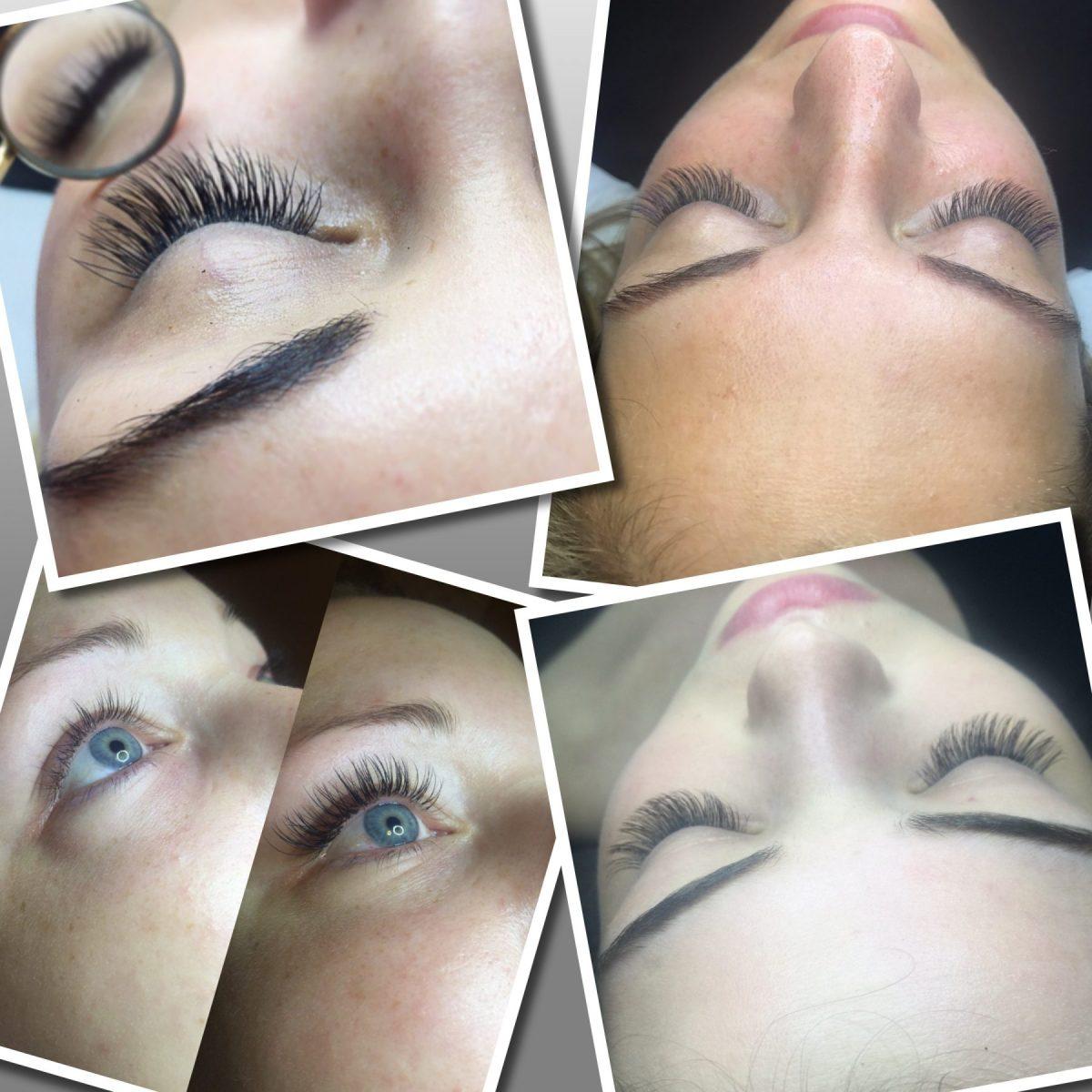 single eyelash extensions