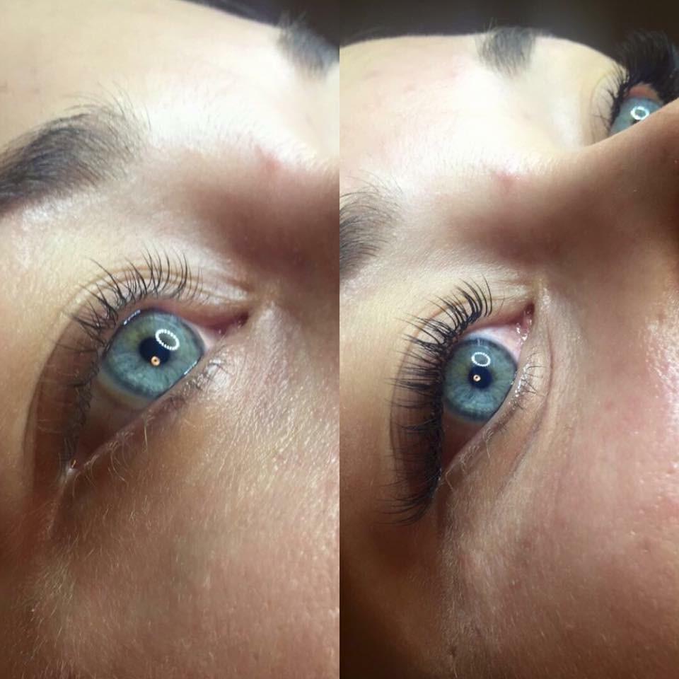single-lashes-behandling