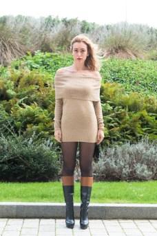ZLATINA BROWN DRESS-8