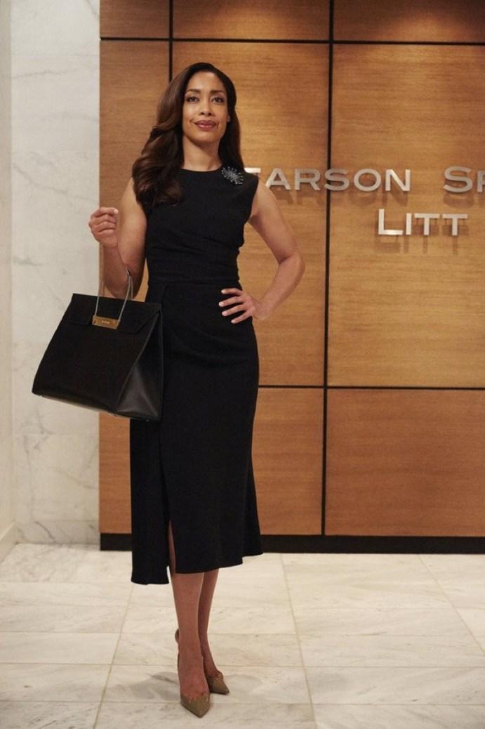Jessica-Pearson-Suits-Black-Dress