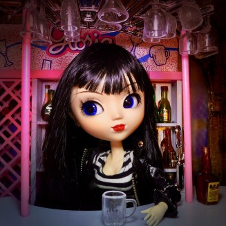 Doll with Whiskey
