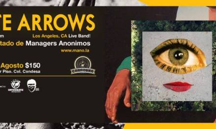 WHITE ARROWS EN MEXICO | CARADURA STAGE BAR | 23 DE AGOSTO DEL 2013