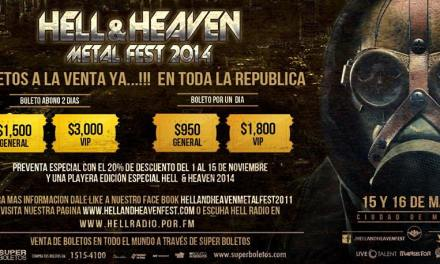 Hell And Heaven Metal Fest 2014 | 15 y 16 de Marzo 2014