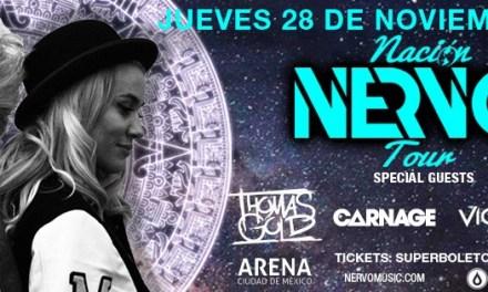 Boletos para Nervo   28 de Noviembre   Arena Ciudad de México