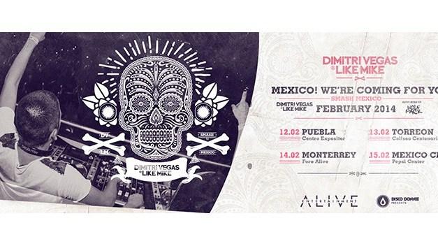 Dimitri Vegas & Like Mike | Cd. de México | 15 de Febrero 2014