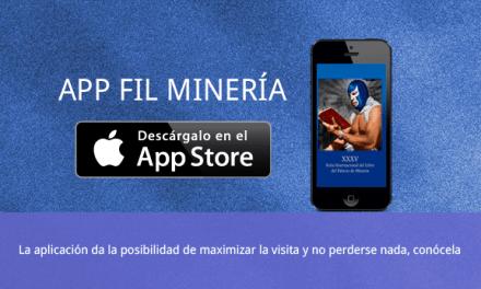 Ya disponible la App de la Feria del libro del Palacio de Minería
