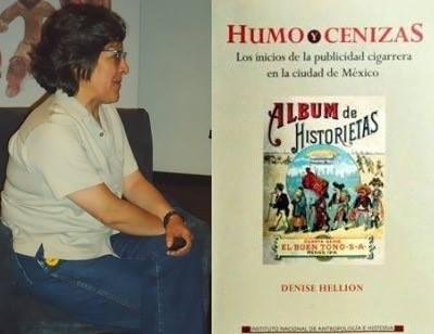 Humo y cenizas de Denise Hellion o una bocanada de modernidad porfirista