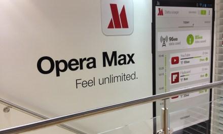 Ahorra datos móviles con Opera Max