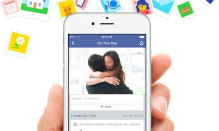 """Facebook te recuerda qué hacías """"Un día como hoy"""""""