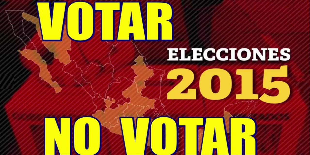 Votar o anular no es el dilema
