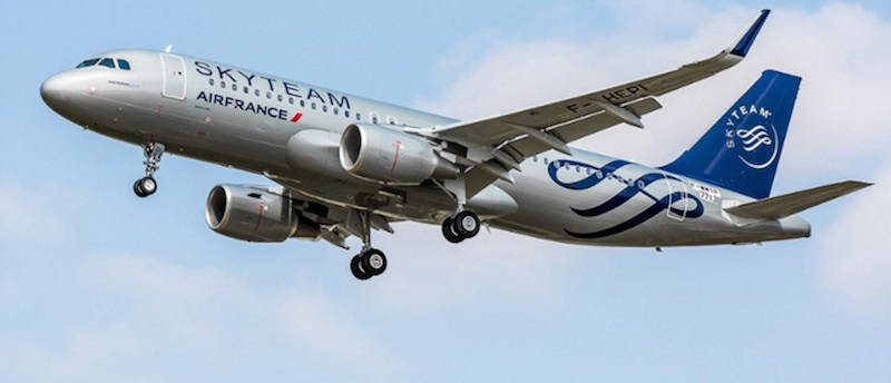 Air France reçoit un 43e Airbus A320