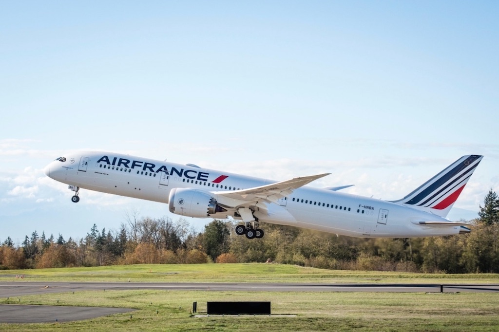 Air France : dix destinations pour cinq Boeing 787-9