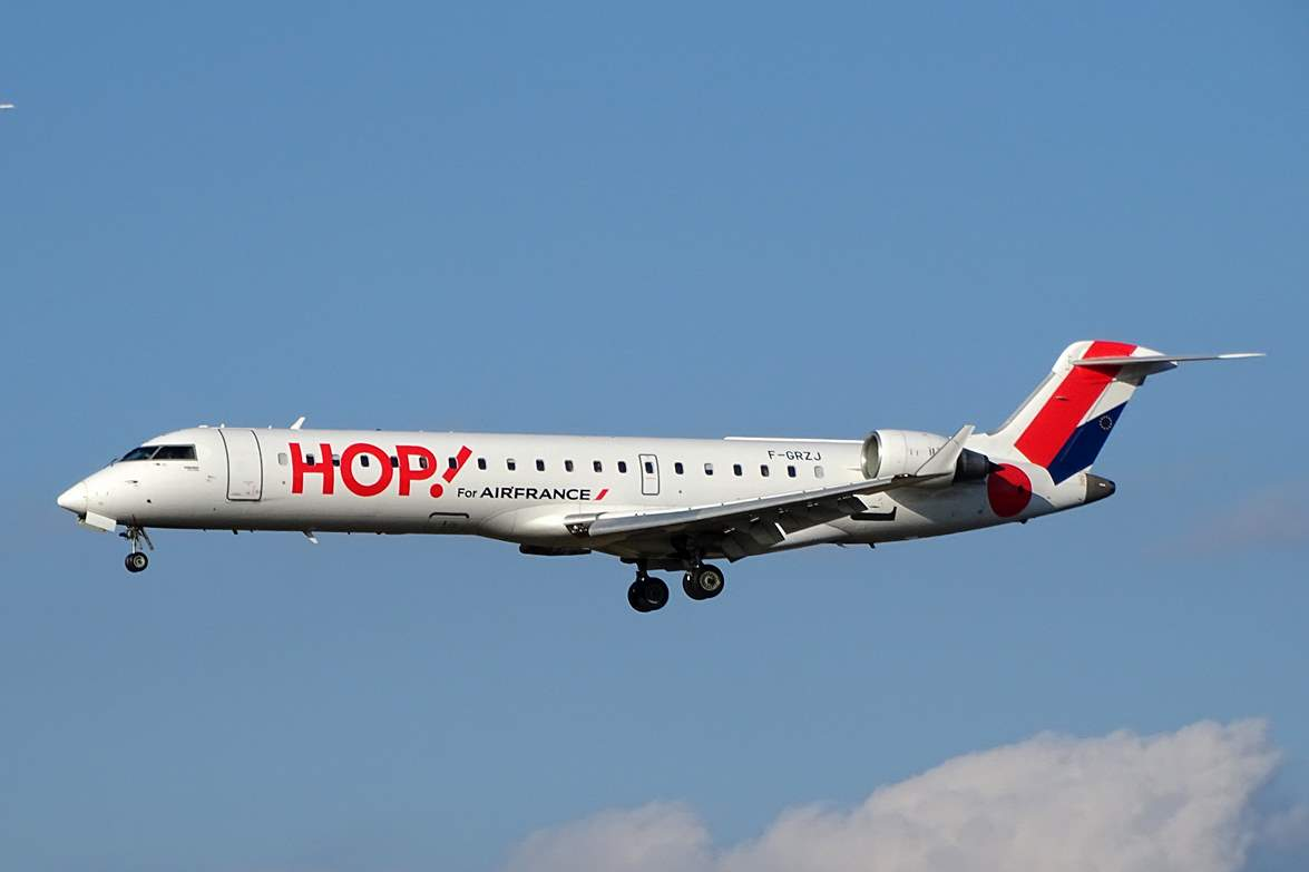 HOP! Air France lance Strasbourg - Rennes et Caen - Toulouse