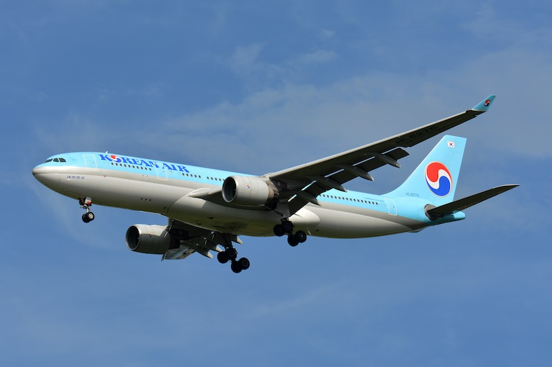Bâle-Mulhouse : premier vol charter de Korean Air