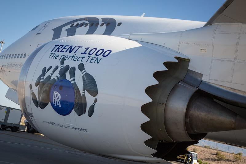 Rolls-Royce : le moteur Trent 1000 TEN certifié par l'EASA