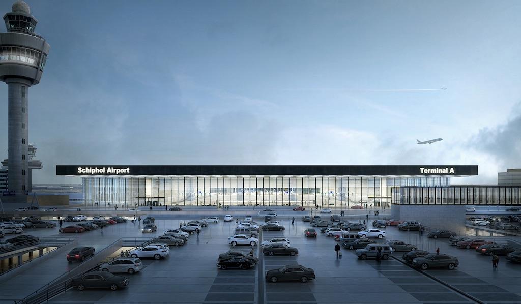 L'aéroport Amsterdam-Schiphol présente son futur terminal (en images)