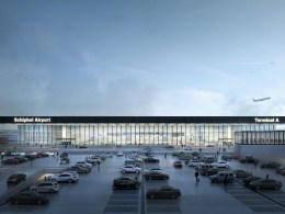 Aeroport_Amsterdam_Schiphol_nouveau_terminal_1