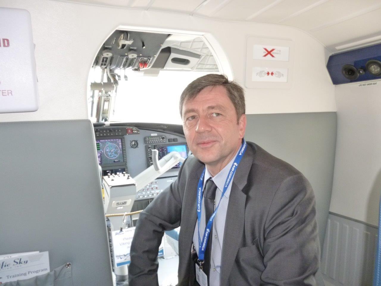 Hervé Pierret : Air Corsica va renforcer sa flotte et son réseau
