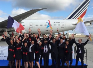 Air France transporte la délégation de Paris 2024