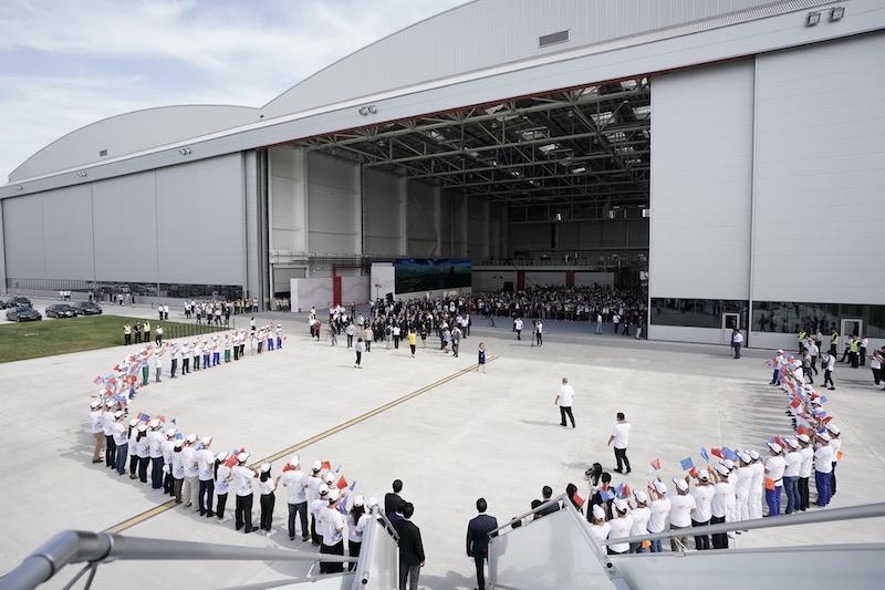 Airbus ouvre en Chine un centre de finition pour l'A330