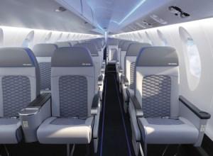 Bombardier : une nouvelle cabine pour le CRJ