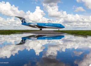 KLM programme ses derniers vols en Fokker
