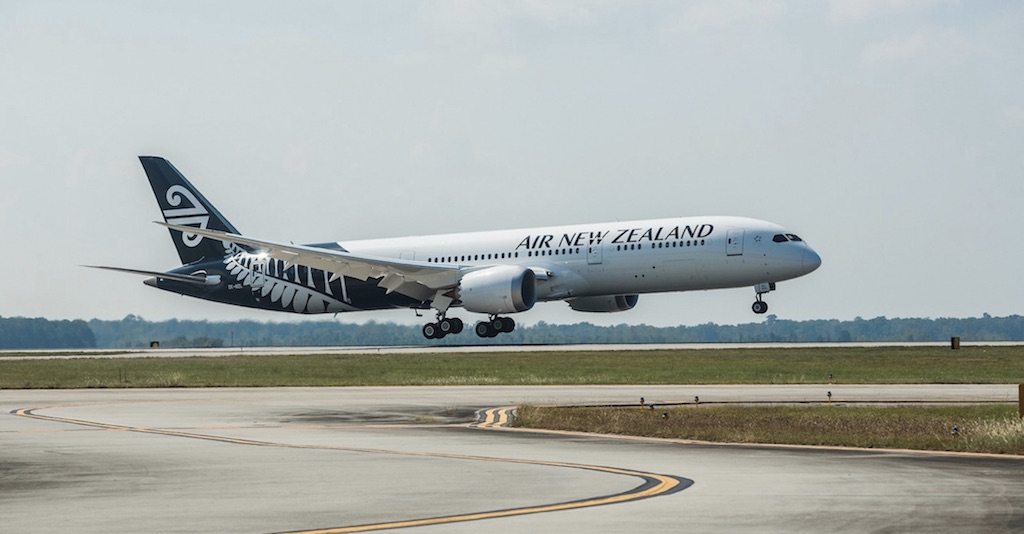 Air New Zealand retourne à Taïwan