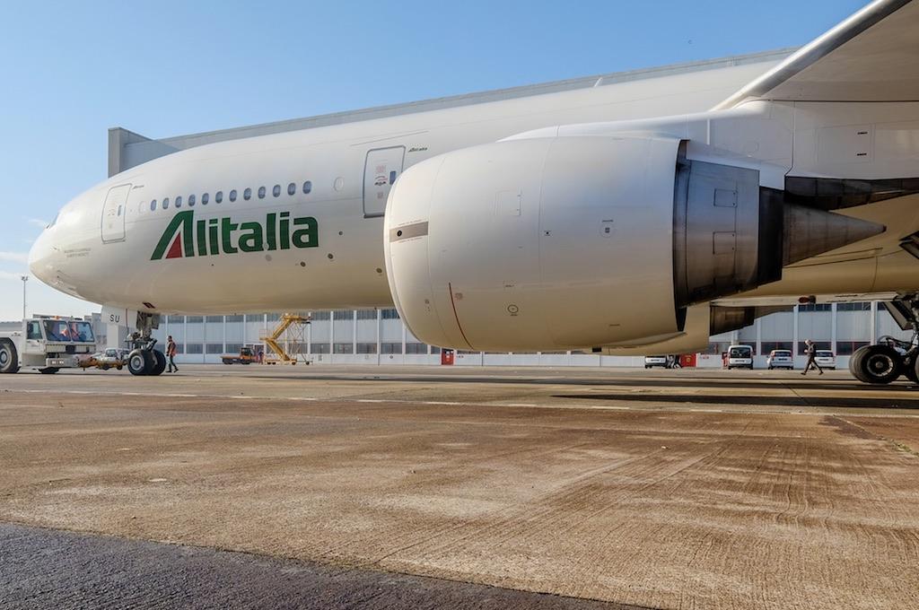 Alitalia en faible perte de juin à octobre