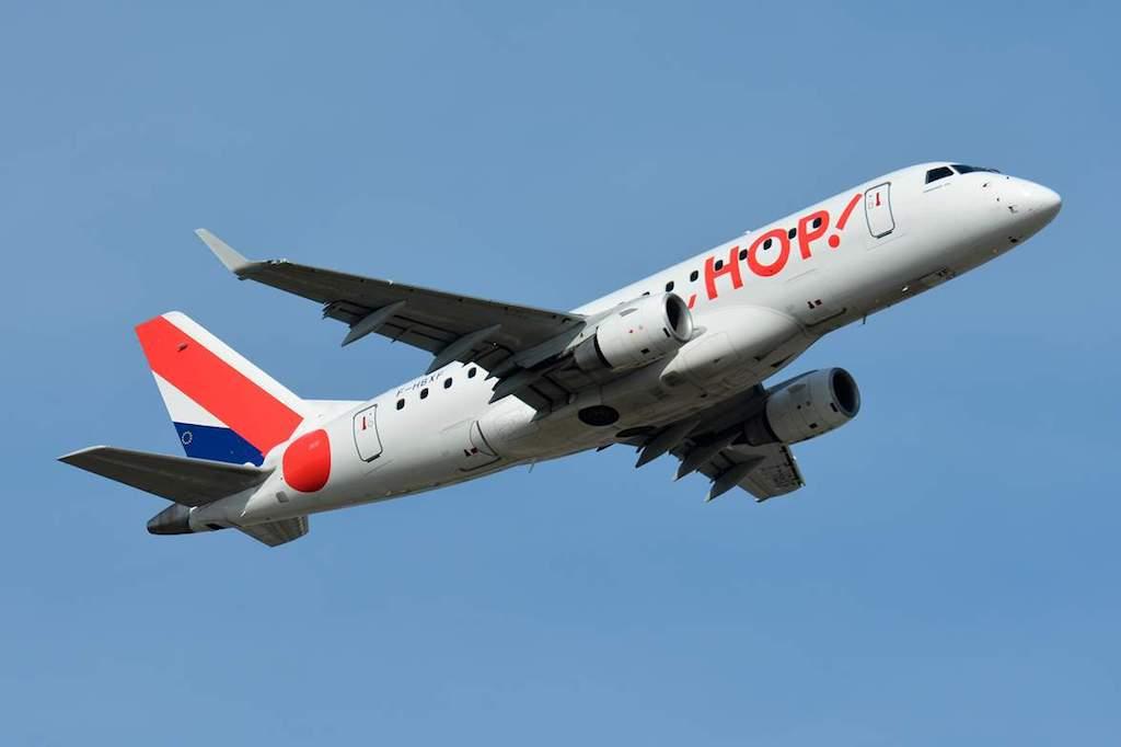 HOP! Air France lance une ligne Toulon - Paris Charles de Gaulles
