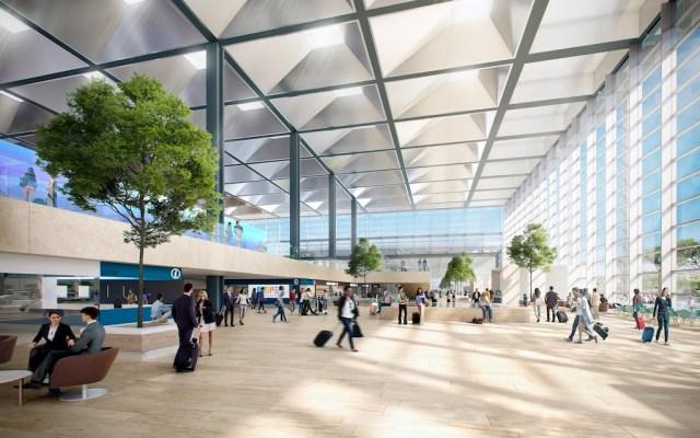 Marseille-Provence_Coeur aeroport_vue departs depuis entree du coeur