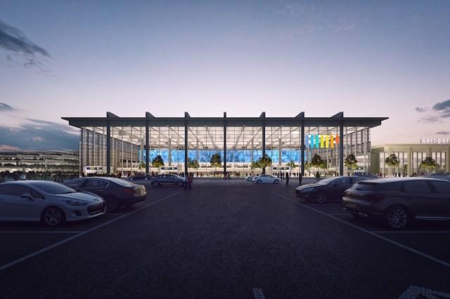 Marseille_provence_Coeur aeroport _ vue façade nord