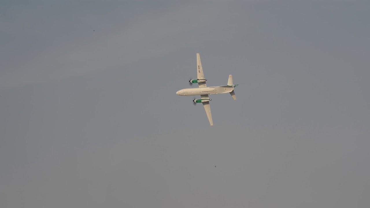 Vidéo : vol de démonstration de l'AN-132 au Dubai Airshow 2017