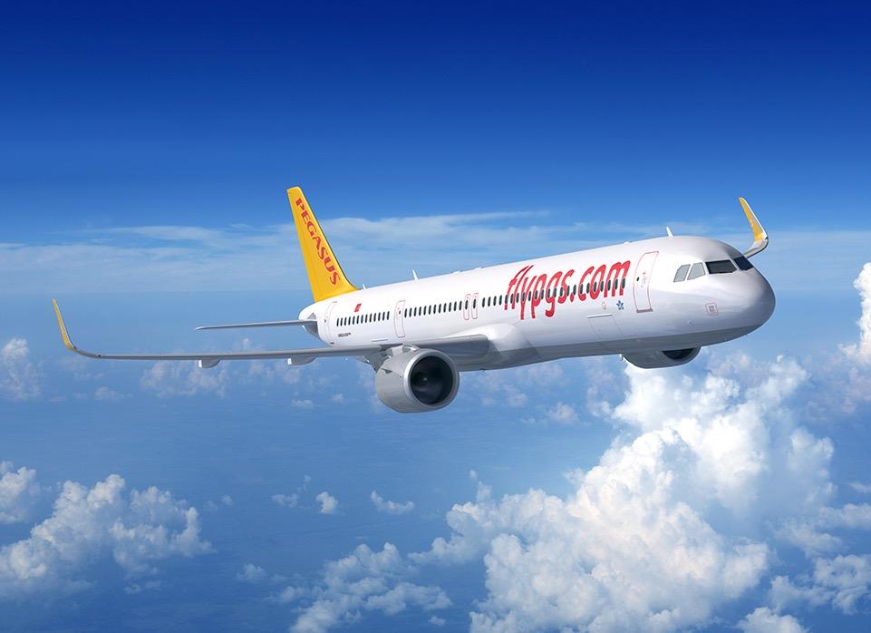 Airbus reçoit une commande de Pegagus Airlines pour 25 A321neo