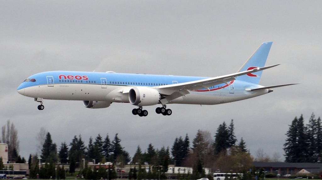 Italie : Neos reçoit son premier 787-9