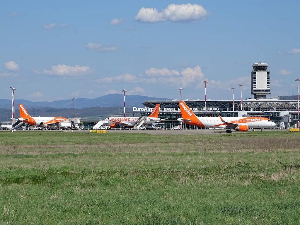 easyJet accélère à Bâle-Mulhouse, Genève et Zurich