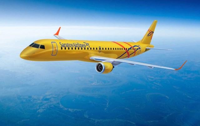 Embraer_E195_Saratov_Airlines