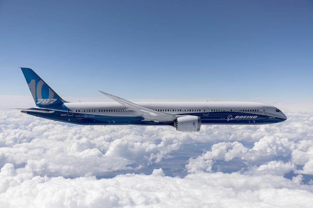 Le Boeing 787-10 certifié par la FAA