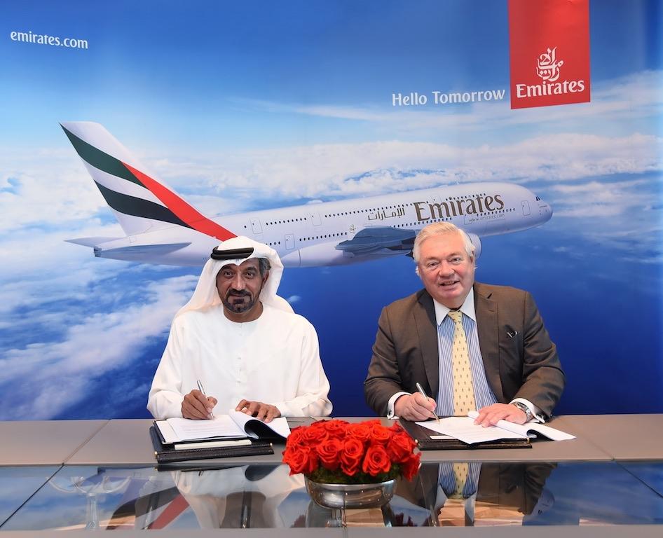 Emirates signe pour jusqu'à 36 Airbus A380 supplémentaires