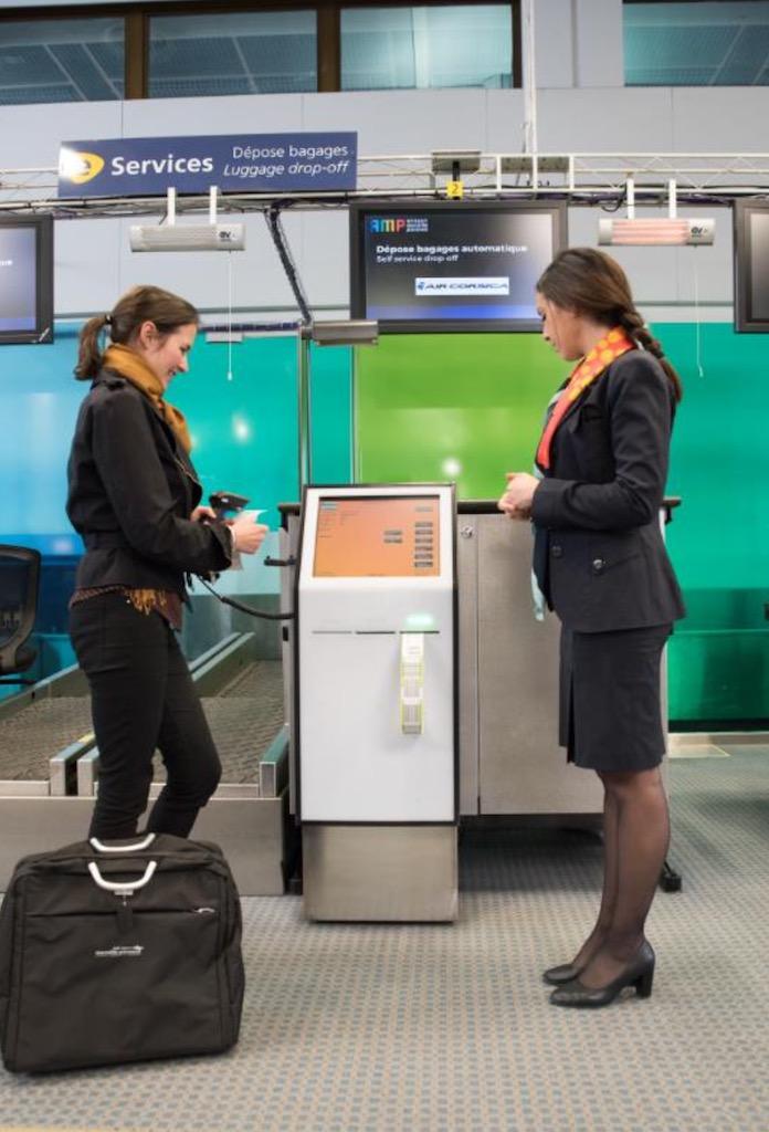 L'aéroport de Marseille automatise la dépose des bagages